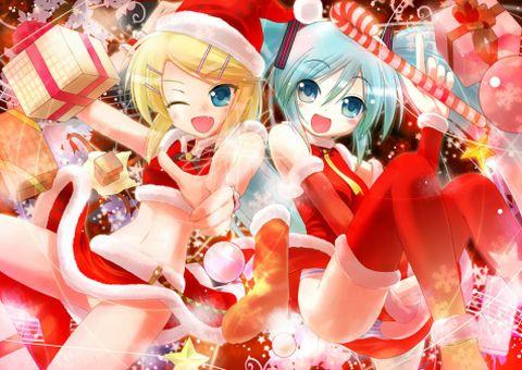 holiday vocaloids